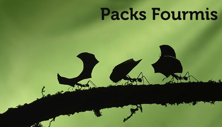 Packs fourmis